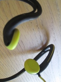 Headphones for trening