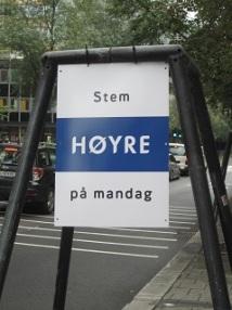 Men ikke stem Høyre på søndag?