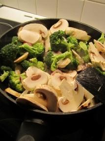 Wok grønnsaker