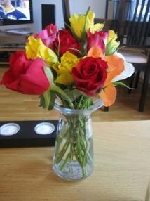 Fargerike roser