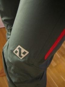 Detalj på buksen